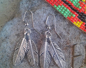 Beautiful Silver Plated Feathers!