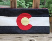 Colorado proud clutch I - COsew