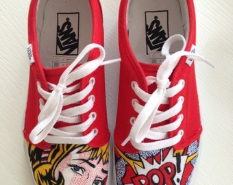 Customized Sneakers: Vans, Toms or Converse