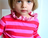 Children's Sewing Pattern: The Bateau Neck Top sizes 18m to 10 (PDF Digital Pattern)
