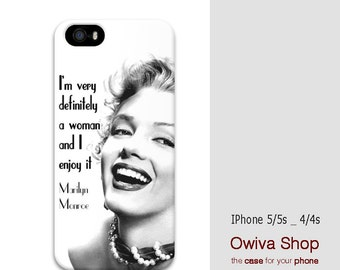 Iphone 5 Cases Marilyn Monroe Quotes Marilyn Monroe quote i...