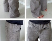 Childrens Primo Pants PDF Pattern & Tutorial - unisex - sizes 1 to10 years