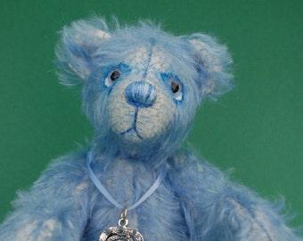 "OOAK Artist Bear "" Delft """