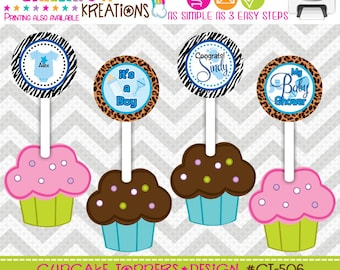 CT-506: DIY - Leopard and Zebra Print Cupcake Toppers