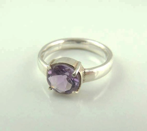 amethyst ring amethyst ring purple engagement ring by