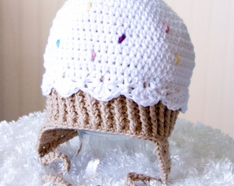 Child Ice Cream Cone Hat