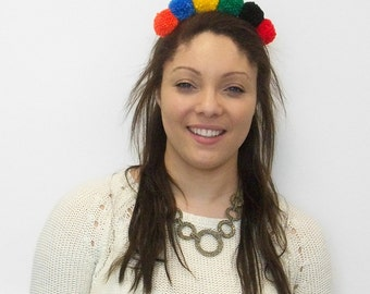 Aurora Pom Pom Headband
