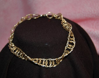 Silver Chain Bracelet Handcrafted