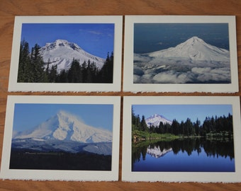 Mount Hood, Oregon cards. Unique beautiful gift! Use as thank you, thinking of you, birthday, get well or give a set as a unique gift