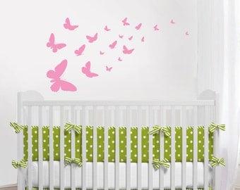 Butterfly Decal, Butterflies,  Nursery decal