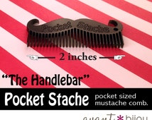 Mustache Comb - The Original Pocket Stache. Keep the flash in your 'stache with this handy grooming tool.