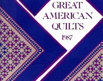 Great American Quilts, 1987 (hardback)