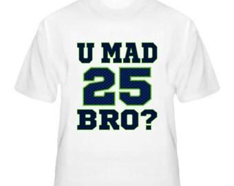 20caf842e U mad bro richard sherman seattle seahawks shirt jpg 340x270 Richard sherman  you mad bro