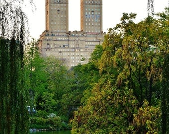An Evening at Central Park, New York City, NY - Color Photo Poster Wall Art Picture - Manhattan - 8x10 or 16x20