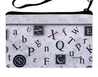 Wristlet clutch Type design custom photo wristlet purse, clutch purse, cosmetic bag, shower gifts