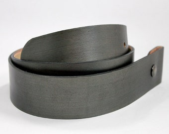 silver leather snap belt