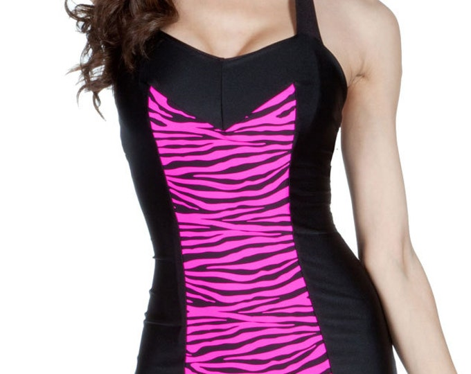 Clementine Swimsuit Pink Zebra XS ONLY!!
