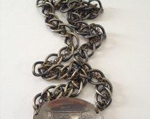 Montana Heart Necklace, Montana Jewelry, Montana Necklace, Spoon Necklace, Spoon Jewelry, Heart Cutout, Vintage Monatana, Montana Gift