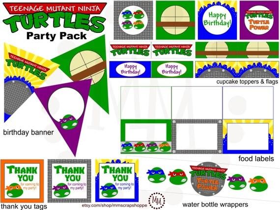 Ninja Turtle Birthday Invitations Printable Free was perfect invitations sample