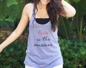 Love Is The Answer Women's Tank