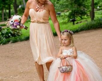 flower girl dress, Custom Design your own flower girl tutu dress