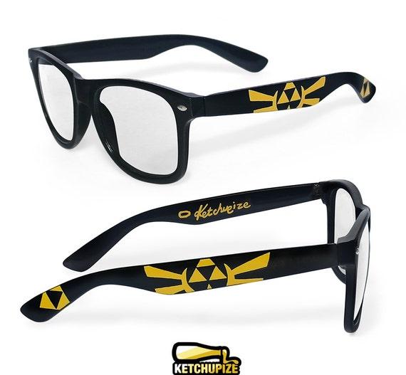 legend of zelda wayfarer glasses birthday gift for her gift for him men student unique custom