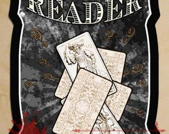 Card Reader Sign