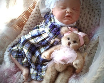 Custom Made to Order Completed Reborn Baby Doll From the Londyn Kit   20 inch Doll