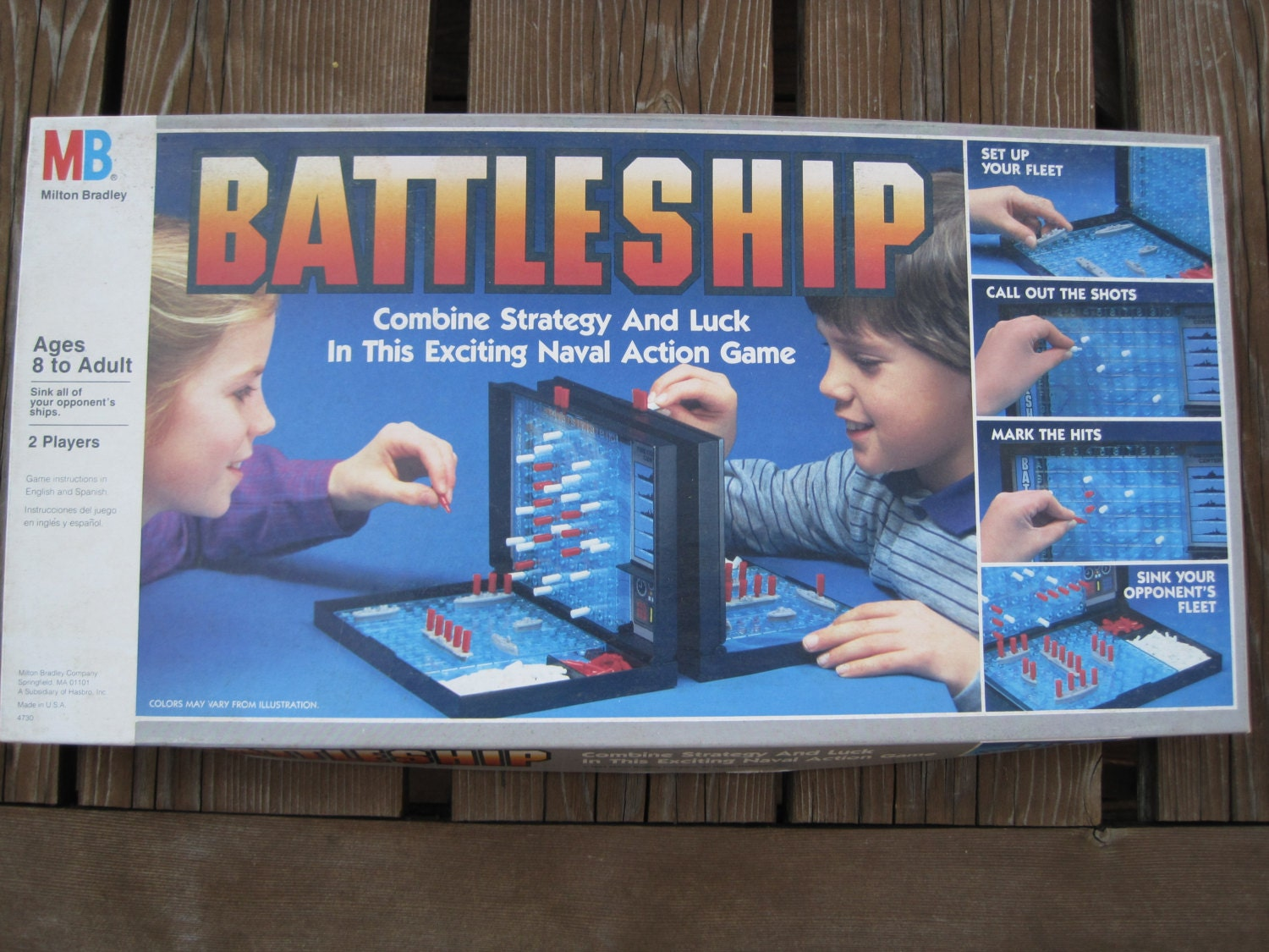 battleship vintage board game in great condition ready by swellamy. Black Bedroom Furniture Sets. Home Design Ideas