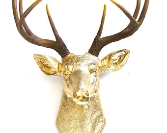 Stag head   Etsy