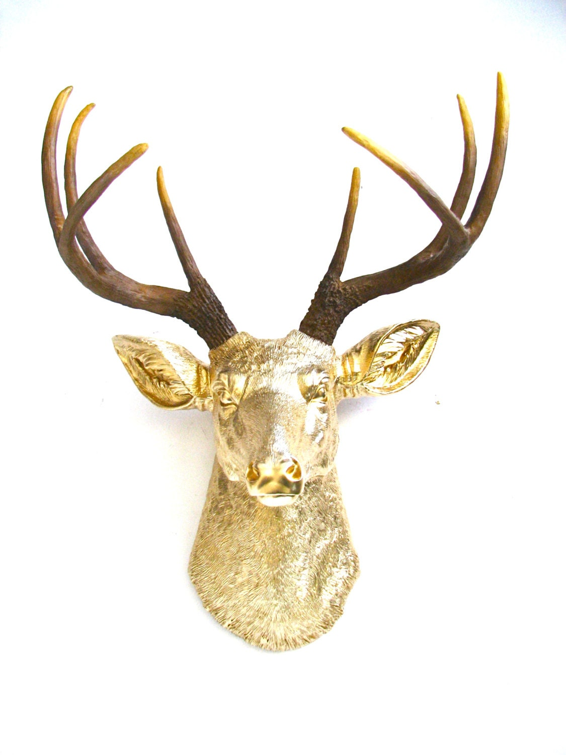 how to make faux taxidermy deer head