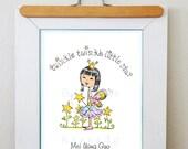 Chinese Adoption art personalized
