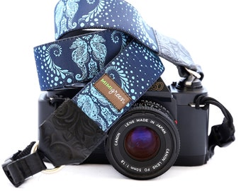 The Sheldon Designer DSLR Camera Strap with Quick Release Buckles -- 1.5 inches wide