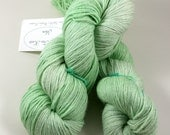 Royal DK-  OOAK Hand-paint, hand-dyed yarn, baby alpaca/silk blend, 310 yds