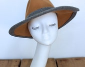 Trendy And Sexy Leslie James Light Wide Brim Tan Hat