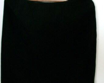 Women's Black Mini Skirt size 18- ready to ship