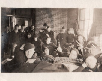 Vintage Photo WWI soldiers ~ US Military