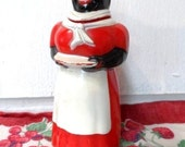 RARE Old AUNT JEMIMA Syrup Pitcher 1950's Advertising- Collectible Americana- Black Advertising History- Unique & Colorful- Well Marked