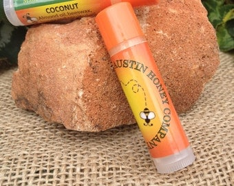 Lip Balm Made with Pure Beeswax & Honey
