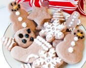 Clearance sale! cookie soaps - Gingerbread cookies