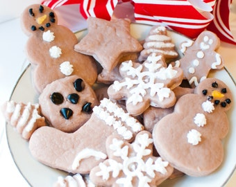Christmas cookie soaps - Gingerbread cookies - Holiday soaps