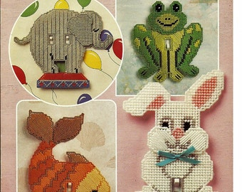 Delightful Light Switch Covers Plastic Canvas Pattern Book Annies Attic 87S75