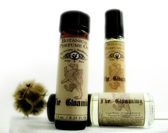 Botanical Perfume Oil. The Gloaming- Redwoods, Neroli, Cedar, Red Tea & Fresh Mint Sprigs. Woody Cologne Oil. All Natural Cologne.