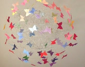 Colorful Butterfly Mobiles, Baby Girl, Nursery Mobiles, Modern Mobiles for Baby Crib