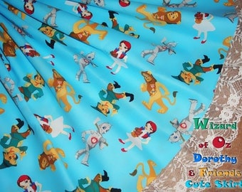 Wizard of Oz Dorothy and Friends Cute Skirt - ANY SIZE