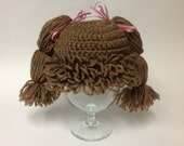 Cabbage Patch Doll Hat / Newborn to Adult Sizes Available