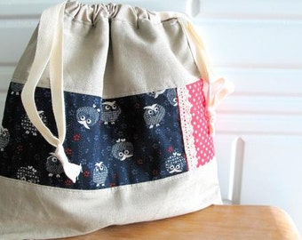 OWLs Drawstring Bag