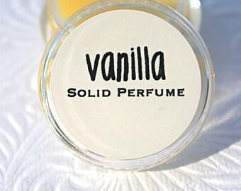 Vanilla Solid Perfume