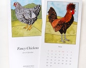Fancy Chickens 2014 Calendar