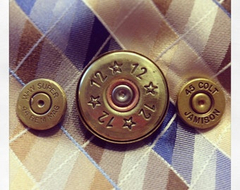 Bullet Tie Tacks, Guy Gifts, Father's Day, Father's Day Gifts, Gifts for Dad, Bullet Gift for Guy, Bullet Jewelry for Men